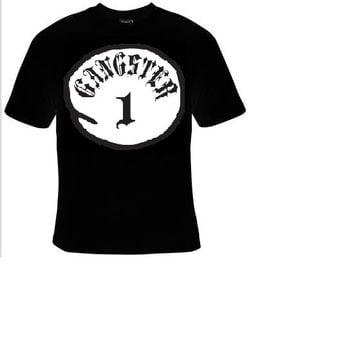 gangster t-shirt cool funny t-shirts gift present humor statement tee shirt