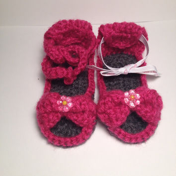 Perfect Baby Shower Gift Handmade Sandals - Sizes 0-12 Months