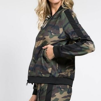 Army wife track suit