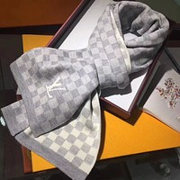 Perfect Louis Vuitton LV Women Wool Scarf Shawl Scarf