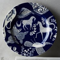 Saga Side Plate by Anthropologie in Dark Blue Size: Side Plate Dinnerware