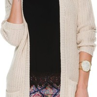 SWELL SESAME DUSTER SWEATER