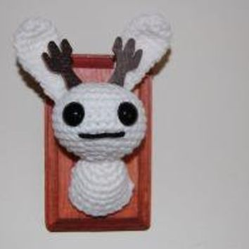 Small Mounted Jackalope Head by AmyLDice on Etsy