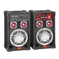 "Supersonic-Pair of 6"" Professional Bluetooth Speakers"