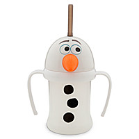 Olaf Cup with Straw for Kids - Frozen