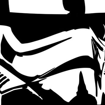 Stormtrooper Star Wars Artwork - Decal, Sticker, Vinyl, Wall, Home - Multi-colors to chose from
