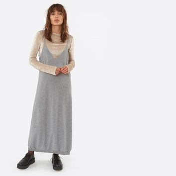 Baserange Homoki Dress - Grey Melange