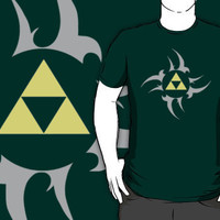Triforce - Grey T-Shirts & Hoodies