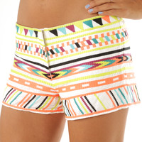 End My Summer Shorts: Multi