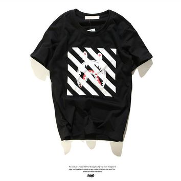 Style Stripes Short Sleeve T-shirts [211451740172]