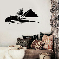 Wall Sticker Pyramid Sphinx Egypt Africa Cool Decor for Your Place z1424