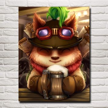 League Of Legends Teemo Poster Multiple Sizes!