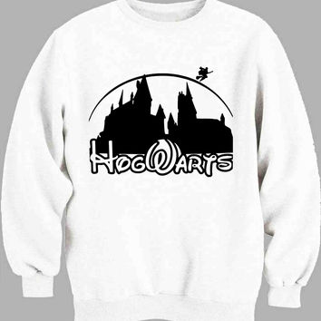 harry potter hogwart disney castel Sweater for Mens Sweater and Womens Sweater ***