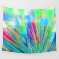 Growth 6 Wall Tapestry by Jen Warmuth Art And Design