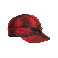 Stormy Kromer Original Cap Red/Black Plaid