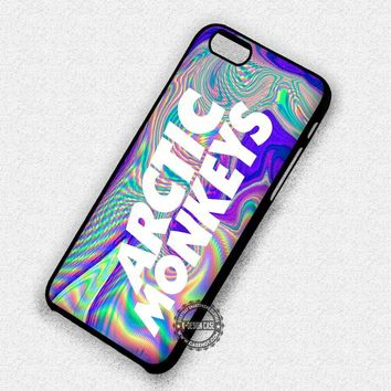 Trippy Name Arctic Monkeys Music - iPhone 7 6 5 SE Cases & Covers #music #arc