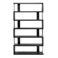 Six Shelf Modern Bookcase