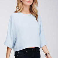 Side-Slit Dolman Top