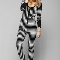 BDG Kozy Kevin Long-Sleeve Jumpsuit - Urban Outfitters