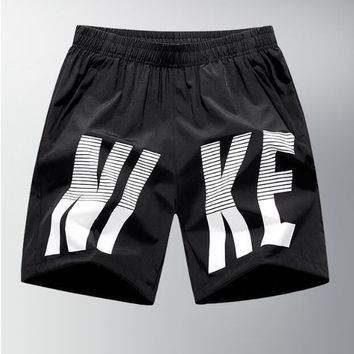 NIKE Hot Sale Summer Men Casual Print Sports Running Shorts