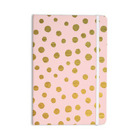 "Nika Martinez ""Golden Dots & Pink"" Blush Everything Notebook"