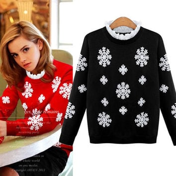 Snow Flake Sweater for Winer
