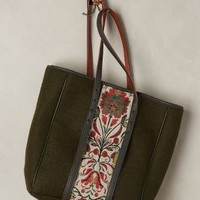 Kassiopea Fritillaria Tote in Green Size: One Size Bags