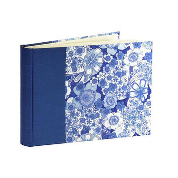 Photo Album Blue and White  Small Landscape 30 pages