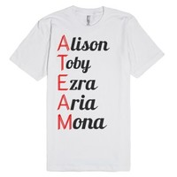 Pll A Team-Unisex White T-Shirt