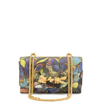 Valentino Va-Va-Voom Laser-Cut Butterfly Shoulder Bag