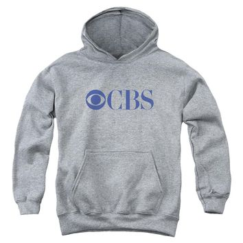 Cbs Logo Youth Pull Over Hoodie