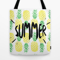 Summer  Tote Bag by Ashley Hillman