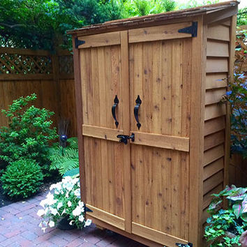Garden Chalet Tool Shed 4'x2′