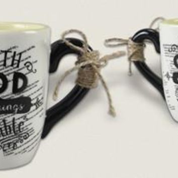 Christian Mug - With God All Things Are Possible