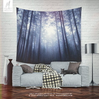 End of the maze - Wall tapestry - Tapestry - Wall hangings - Forest tapestry - Wanderlust - Nature tapestry - Home décor - Wall décor.