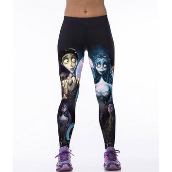 Women's Fitness Printed Good Selling Long Stylish Leggings Trousers Activewear Sportwear Yoga Pants