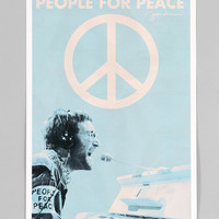 Urban Outfitters - John Lennon People For Peace Poster