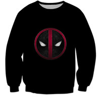 Exclusive Deadpool Black Long Sleeve Shirt / Tee