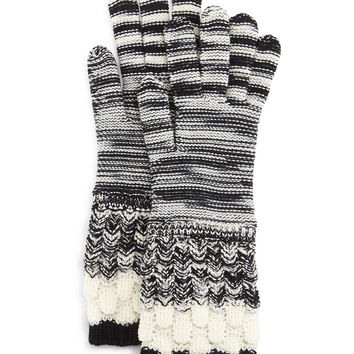 Knit Wool Gloves, Size: MEDIUM,