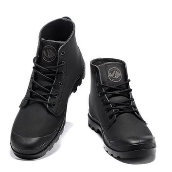 Palladium Pampa Hi Vl Boots All Black - Beauty Ticks