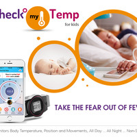 CLICK HERE to support Check-my-Temp: More Than A Wearable Thermometer