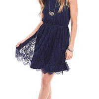 Lovers Lane Lace Fit and Flare Dress