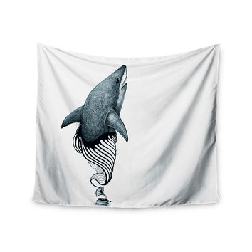 "Graham Curran ""Shark Record"" Wall Tapestry"