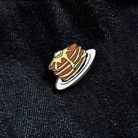 UO Pancake Stack Pin - Urban Outfitters