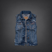 Summerland Denim Vest