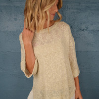 Sweet As Can Be Dolman Sweater