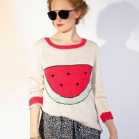 Watermelon Sweater by Dusen Dusen