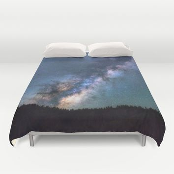 Milky Way Duvet Cover by Gallery One