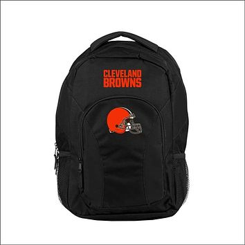 """Browns OFFICIAL National Football League, """"""""Draft Day"""""""" 18""""""""H x 10"""""""" (12"""""""" Back) Backpack  by The Northwest Company"""