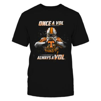 Tennessee Volunteers - Once a Vol, always a Vol - T-Shirt - Officially Licensed Fashion Sports Apparel